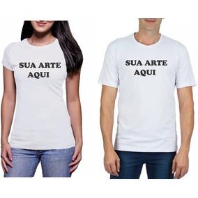 Blusa Feminina Camiseta Personalizada Estampa Tamanho A4