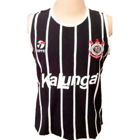 Camisa Retrô Corinthians Regata 1988 Feminina - Baby Look 59850e09156f4