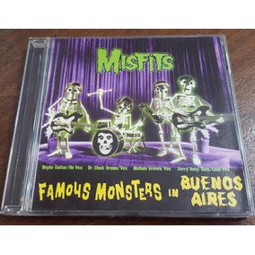 Misfits - Famous Monsters In Buenos Aires 2000 Cd Samhain
