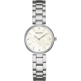 e6f19bb884b Relogio Bulova Diamond Feminino - Relógios no Mercado Livre Brasil