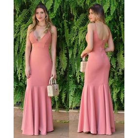 699fe0623 Vestido De Renda - Vestidos Femininas Coral em Goiás no Mercado ...