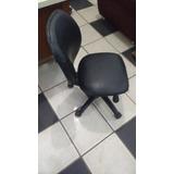 Cadeira De Escritorio Giratoria Napa Preta