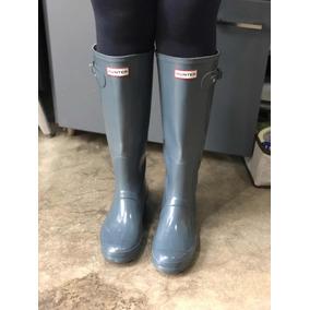 d9081be2b Bota Galocha Hunter Gloss Clássica Ajustável Importada - Sapatos no ...