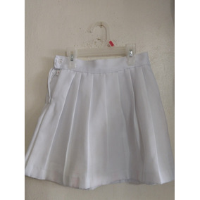 Falda Blanca Escolar - Faldas al mejor precio en Mercado Libre México d72a412098e5