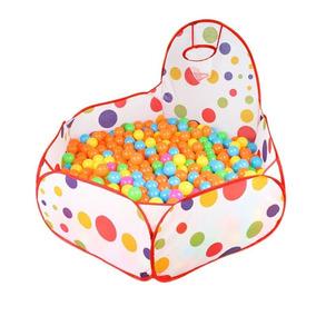 Cercadinho De Bebe Flexível Colorido Toys Com 100 Bolinhas