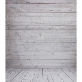 Los 3x5ft Vinilo Azul Tablero Piso... (gray Wood.)
