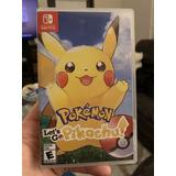Pokemon Lets Go Pikachu + Pokeball Plus