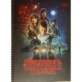 Caderno Stranger Things 10 Matérias Modelo 1