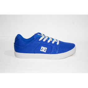 Tenis Dc 100238bgc Azul Rey Para Caballero Urbano