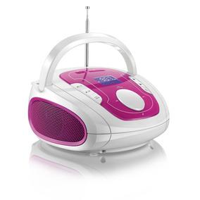 Caixa De Som Multilaser Boombox Bluetooth Som 5 Em 1 Rosa E