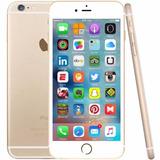Iphone 6s Plus 128 Gb Dourado Tela 5,5 Pelicula E Capinha