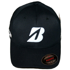 Bridgestone Golf Tour B Gorra Ajustada Flexfit Hat Black La 11d80f02325
