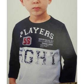 Kit 5 Und Camiseta Infantil Manga Comprida Barato. R  120 f4fdad82226