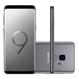 Celular Samsung Galaxy S9 Cinza Tela Infinita De 5,8