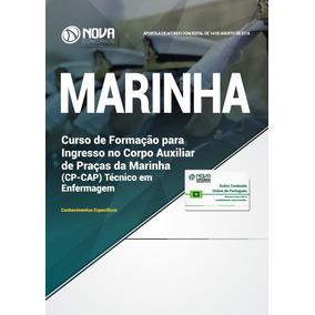 Apostila Marinha 2018 Cp-cap Técnico Em Enfermagem Completa