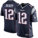 Jersey #12 Brady Patriotas Ne, Version Aficionado Nueva!