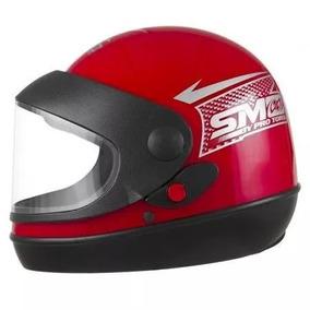 Capacete Moto Fechado Automático Sm Protork Nº 58
