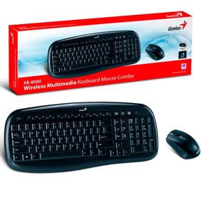 Combo Inalambrico Teclado Y Mouse Genius Kb-8000x