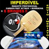 Raquete Tenis De Mesa Carbon Yinhe 988 Profissional Promoção
