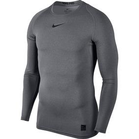 Camiseta Manga Longa Nike Pro De Compressão - Calçados 02526bb24b09b