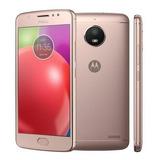 Motorola Moto E4 Dual 4g 16gb Biometria 2gb De Ram Rose