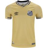 Camisa Santos Retro Umbro Dourada - Camisas de Futebol no Mercado ... 5c38765fc8984