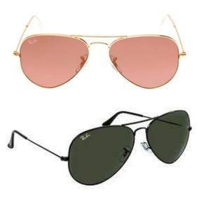 2008b3e81 Ray Ban Aviador - Óculos De Sol Com proteção UV no Mercado Livre Brasil