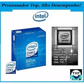 Processador Intel Core 2 Quad Q6600 - Lga775 - 8mb