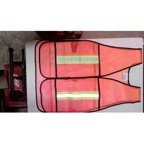 Chaleco Seguridad Malla Con Reflejante Xl $150 Envío Gratis