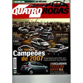 4 Rodas 573 Dez/07 Perfeita! Megane Novo Ka Alfa Romeo 159