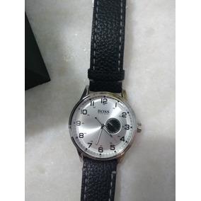 Relógio Hugo Boss (original) Com Correia Em Couro