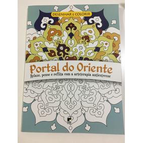 Livro De Colorir Portal Do Oriente