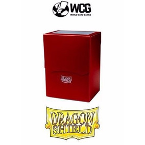 Deck Box Dragon Shield - Vermelha - #yugioh #magic #pokemon