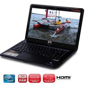 Notebook Sti Core I3 Com 4gb E Hd 320gb Hdmi Windows