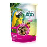 Ração Extrusada Para Papagaio Mix Tropical Megazoo - 700gr