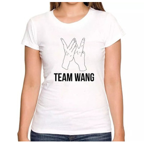 Camiseta Baby Look Team Wang Got7 Jackson Feminina 4272ef6598bd8