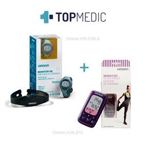 Reloj Monitor Cardiaco + Monitor Actividad Omron | Topmedic