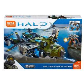Mega Construx Halo Unsc Frostraven Vs. Decimus , 1489 Pcs