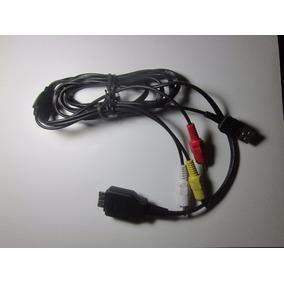 Cable Audio Vídeo Tipo 2 Para Camara Digital Sony