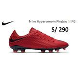 Chimpunes Nike Hypervenom Phelon 3 Grass Natural Nuevos
