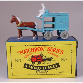 Matchbox Series Originals Nº 7 Carreta Leche Mokolesney 1/64