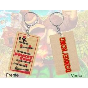 Kit De Chaveiros Donkey Kong (frente E Verso) - 3 Unidades