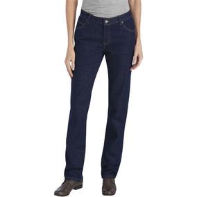 Pantalón De Mezclilla De Trabajo Dickies Fd9393rnb (mujer)
