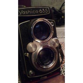 Camara Fotografica Marca Yashica 635 De Coleccion.