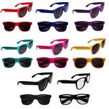 Óculos Sol Adulto Festa Universitário Proteção Uv400 20 Un. df72f56761