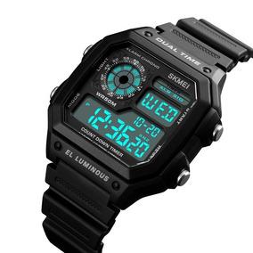 Reloj Digital Hombre Deportivo Militar Skmei Resistente Agua