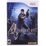 Resident Evil 4 - Nintendo Wii (físico) (usado)