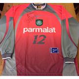 Camisa Palmeiras 1999 Autografada Marcos Rara