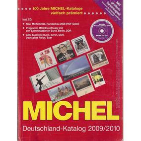 Catálogo Michel Da Alemanha 2009/2010 C/cd - Usado