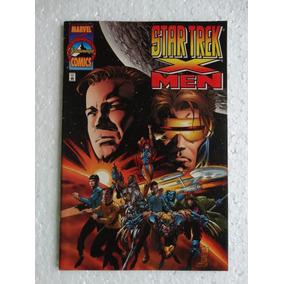 Star Trek/x-men Nº 1! Marvel Comics Dez 1996! Inglês